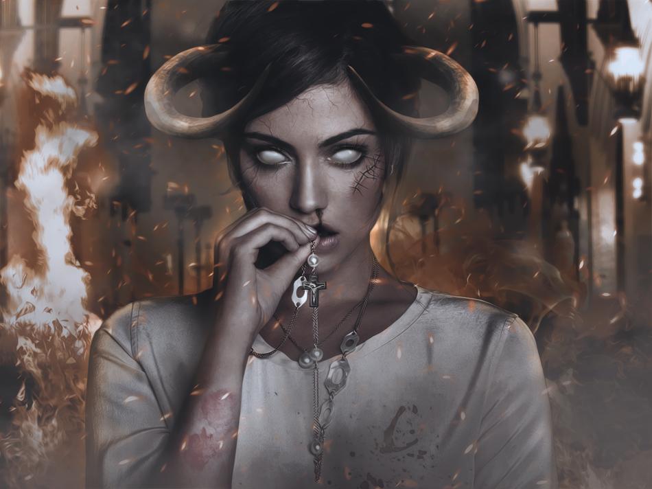 Demon by Pilarja