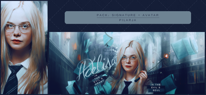 Adelisa [Avatar + Signature] by Pilarja
