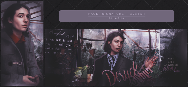 Keep calm and drink wine [Avatar + Signature] by Pilarja