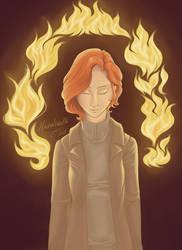 A muse of fire by Nanahuatli