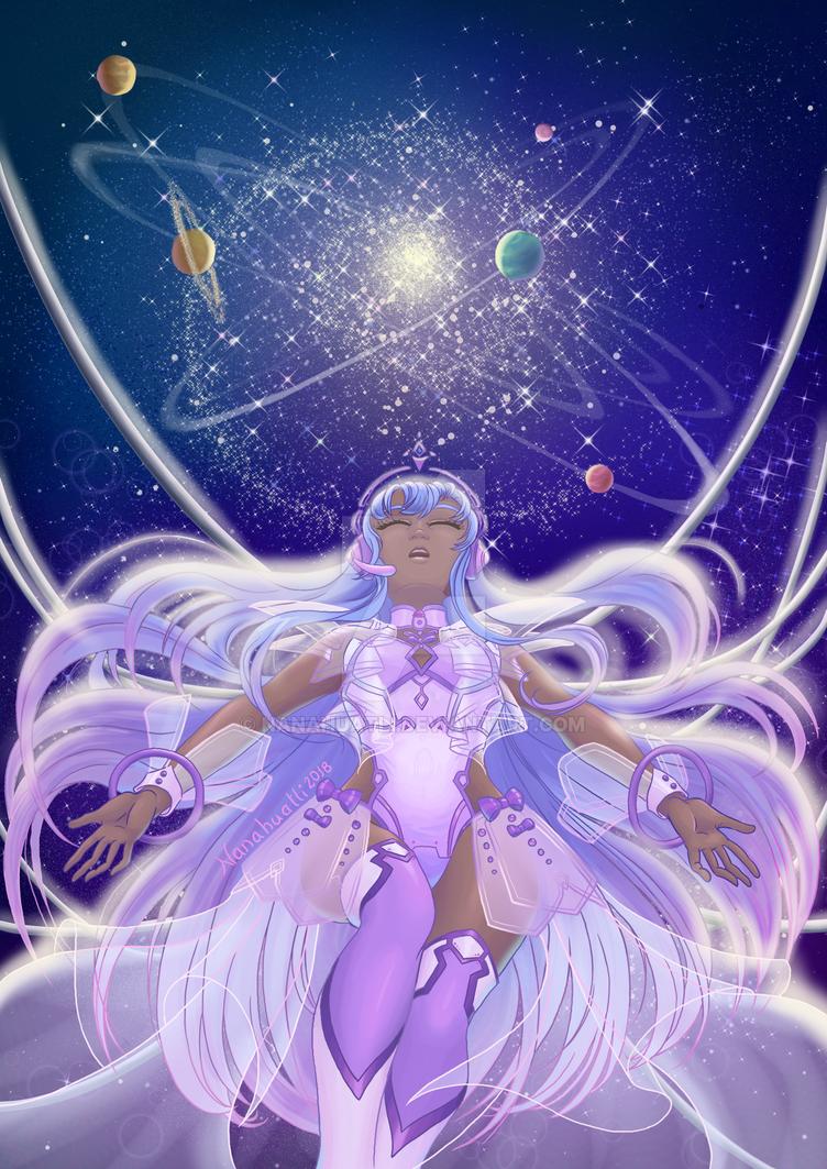 Hemis of the Cosmos by Nanahuatli