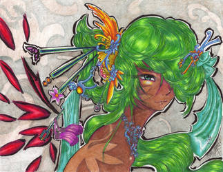 The Dragon Goddess by SugarPopBlossom