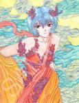 Rei Ayanami by SugarPopBlossom