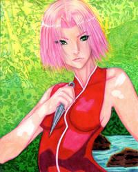 Sakura Haruno by SugarPopBlossom