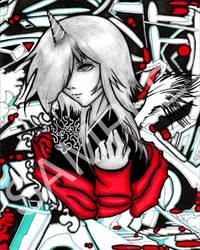 Graffiti Angel 007 by SugarPopBlossom