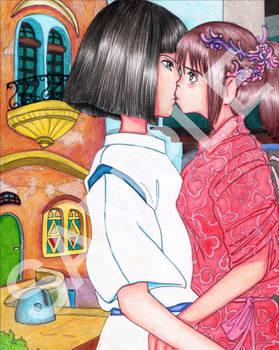 Chihiro And Kohaku