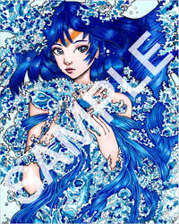 Sailor Mercury by SugarPopBlossom