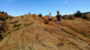 Hiking Prescott - Climbing