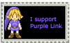 Purple Link Stamp by Darkneah