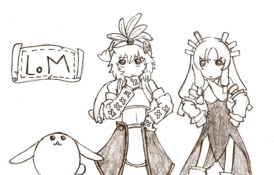 Legend of Mana Fan Art by mochitsuki-chan