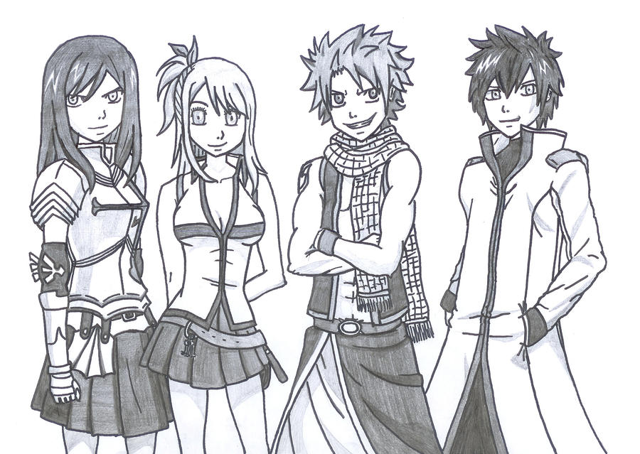 Team Fairy Tail by cinkoslaw90