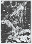 Super-Skrull vs Mar-Vell and Rom