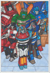 Autobots Class Of '85 by conradknightsocks