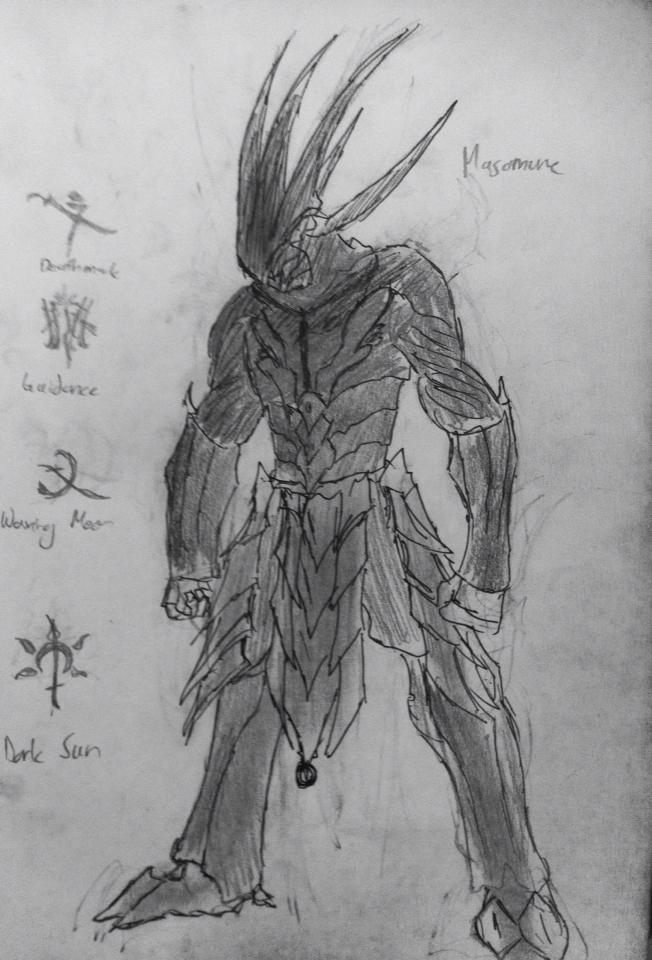 Masamune - Nikana Warframe by zerohollow