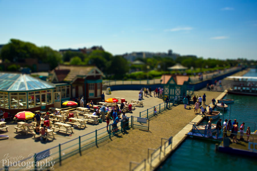 The Promenade Tilt-Shift by ScENeYmE