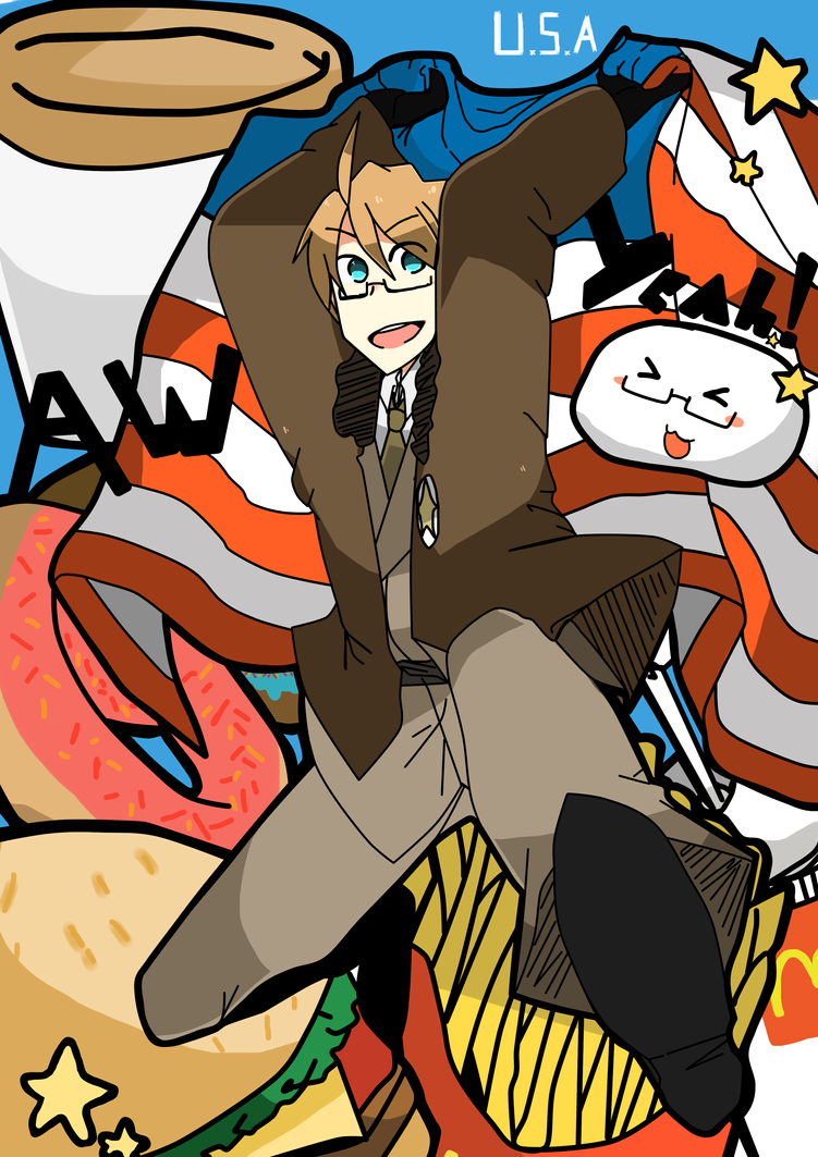 U.S.A AW YEAH !!! by noeru-sama