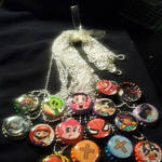 Bottlecap necklace sale 1 by raccoon-eyes
