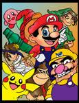 Smash Bros Color by raccoon-eyes