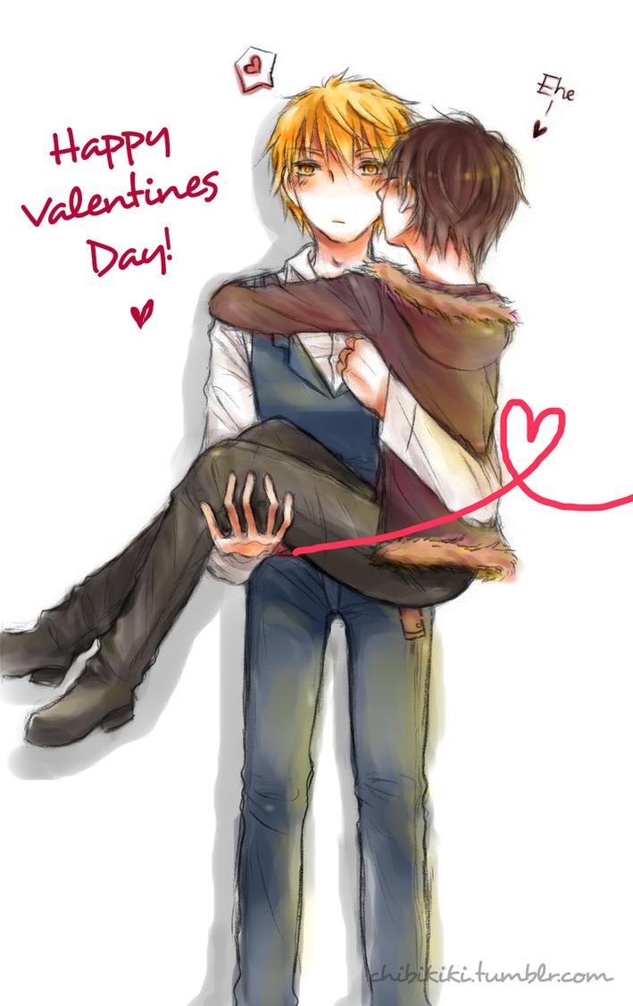Shizuiza Happy Valentine S Day By Chibi Kiki Chan On Deviantart