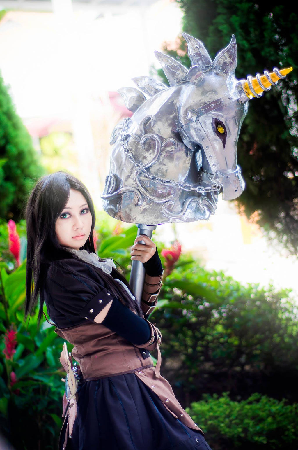Alice Madness Returns: Steam Dress by rurik0