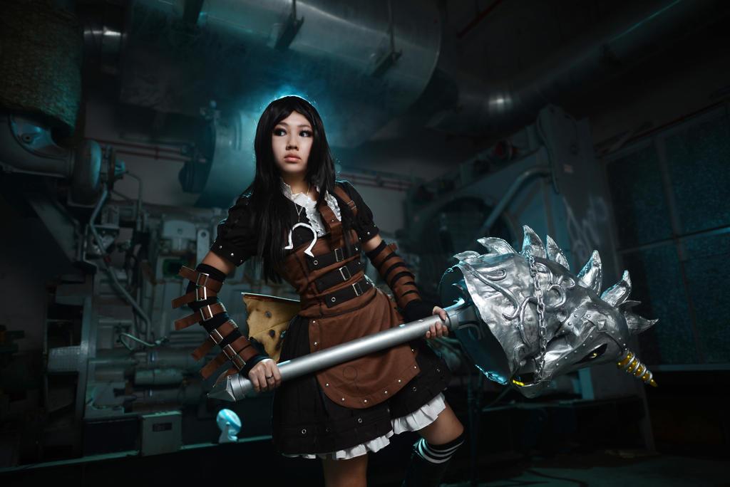 Alice Madness Returns: Steam Dress 3