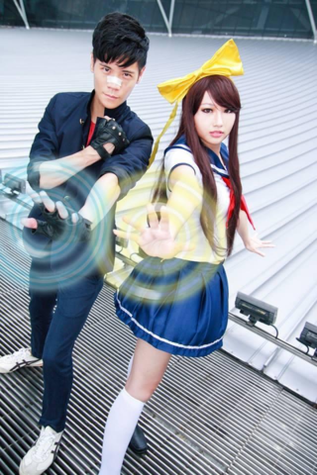 Shun Ukiya and Ruriko Ikusawa (Gatekeepers) by rurik0