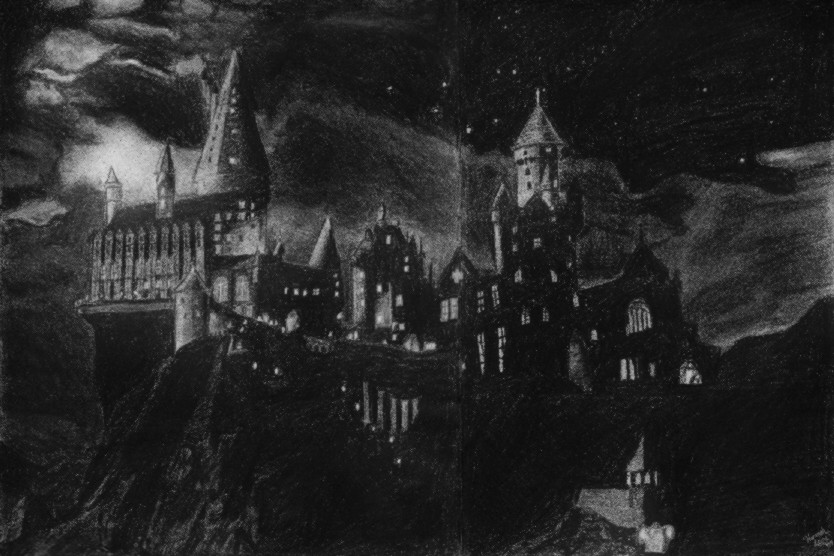 Hogwarts Castle By Silver Phoenix17 On Deviantart