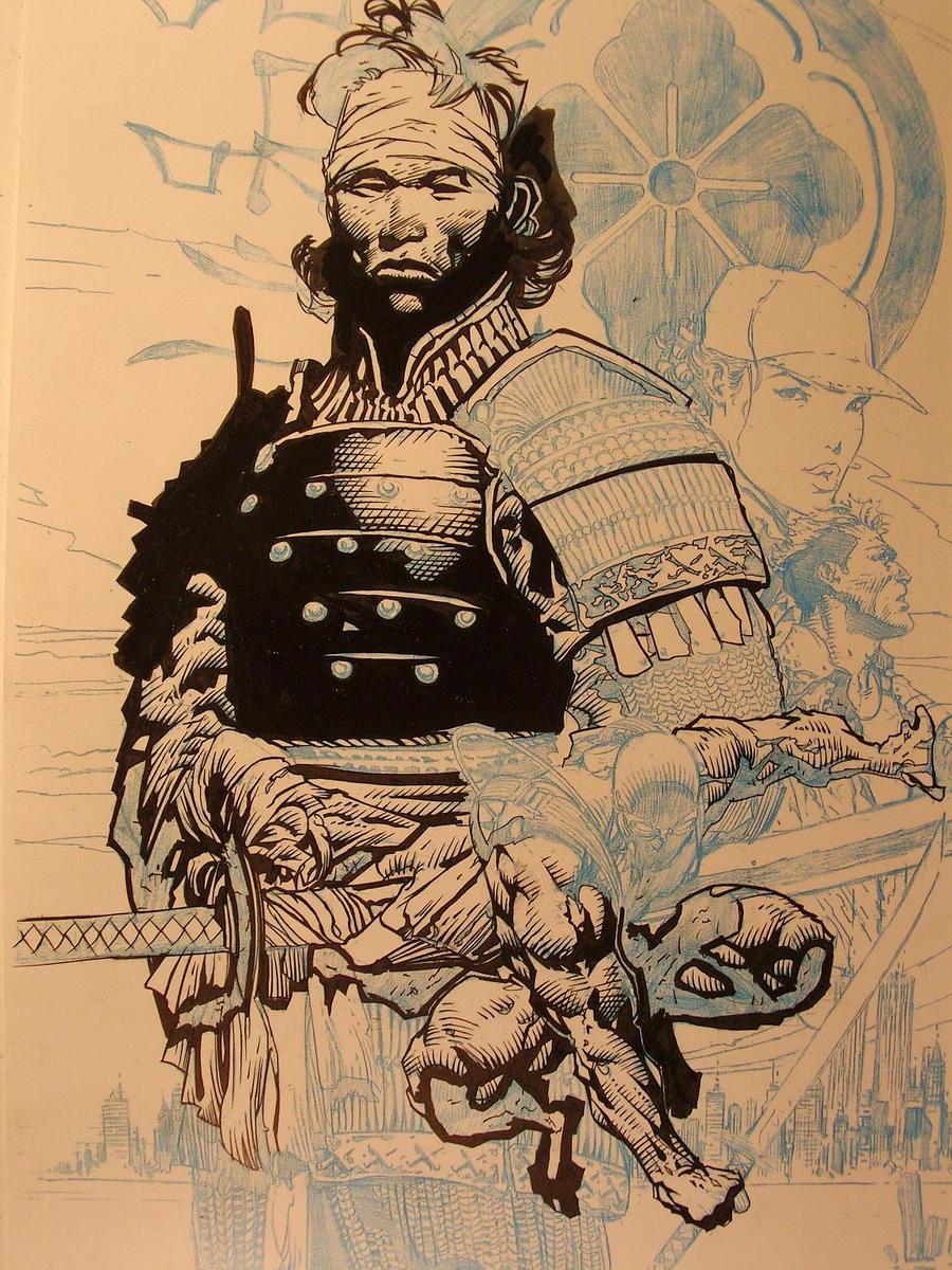 David finch no honor cover by jonbolerjack on deviantart
