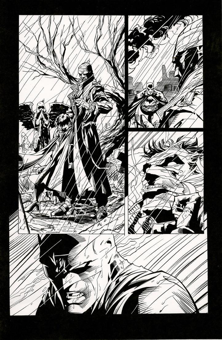Jim Lee Batman Hush By JonBolerjack