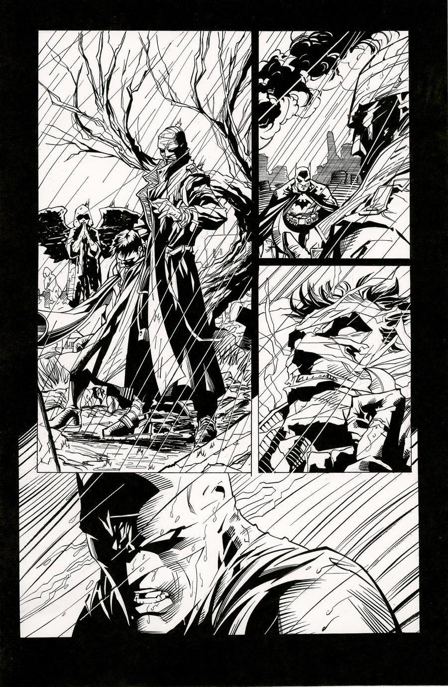 Jim Lee Batman Hush Wallpaper