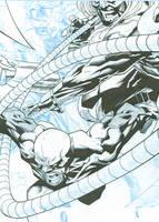 Wolverine Origins Quesada WIP by JonBolerjack
