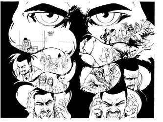 Mindfield Double Page spread by JonBolerjack