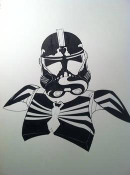 Clone Trooper Venom Mash up
