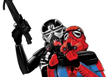 Spidertrooper and venomtrooper