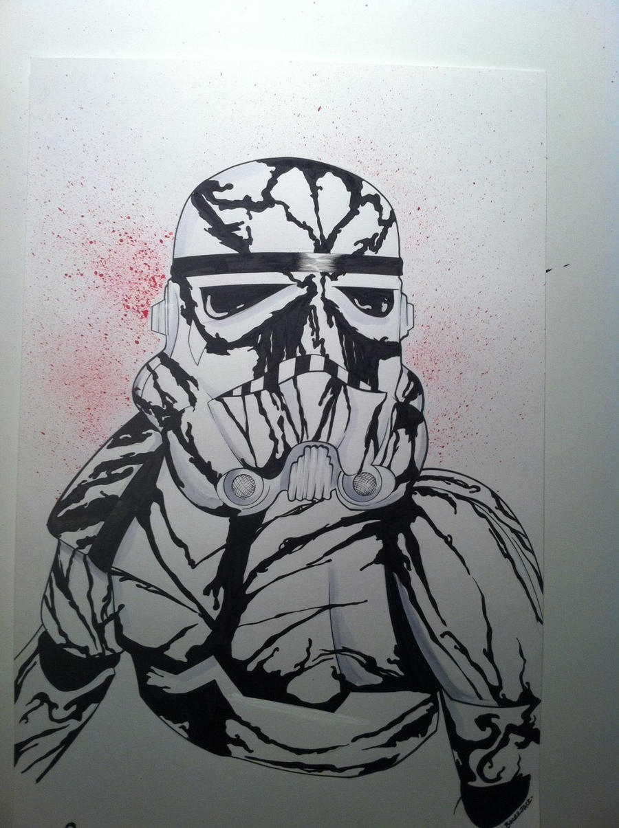 Carnage stormtrooper commission