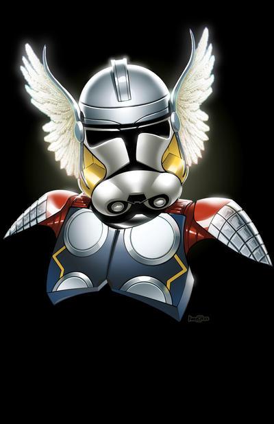 Thor Clone Trooper by JonBolerjack