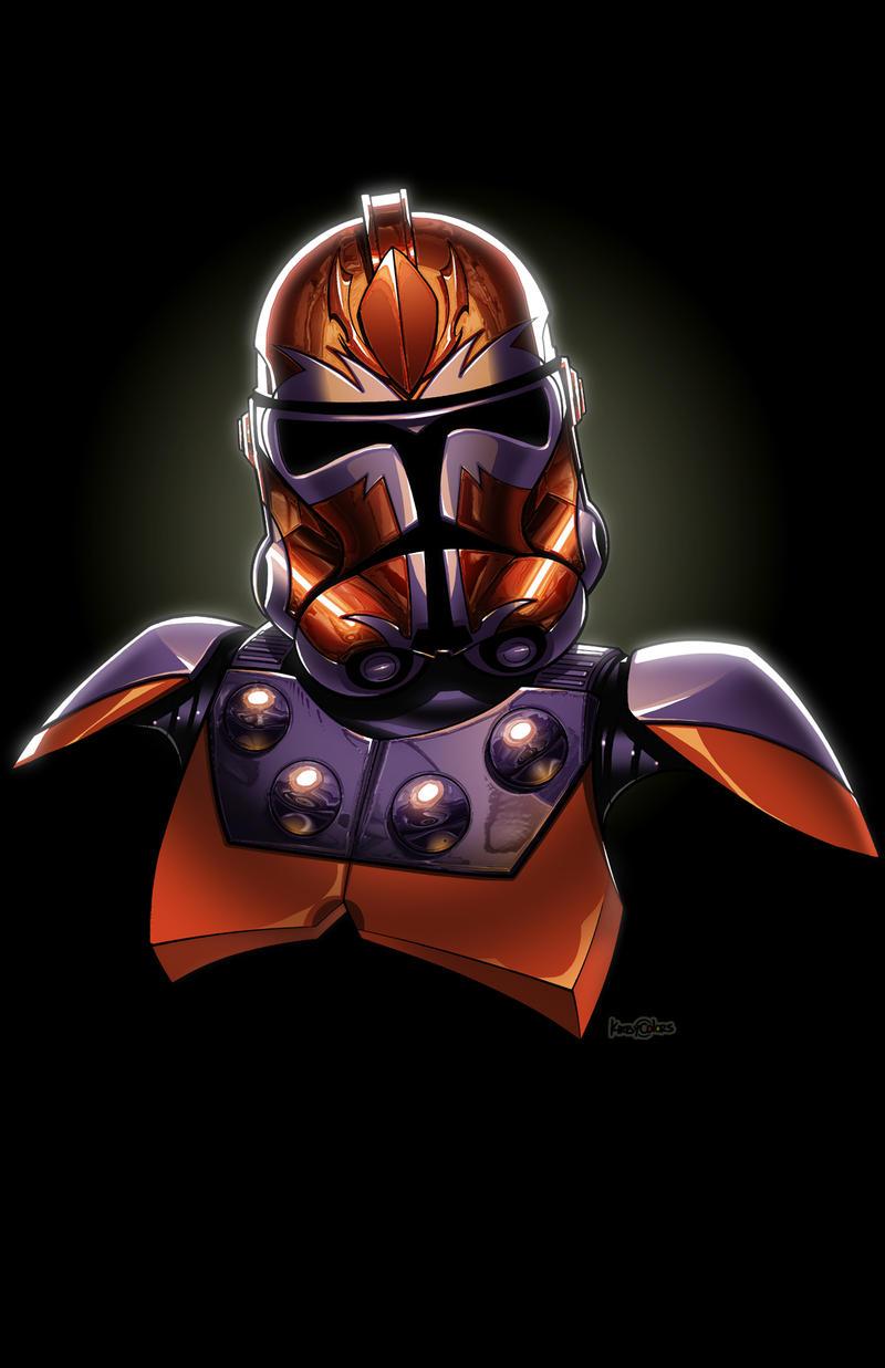 Magneto Clone Trooper by JonBolerjack