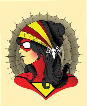 SpiderWoman / Gypsy Tatoo mash up