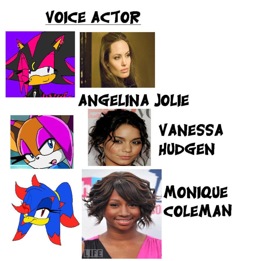 VoiceActor of Team Chaser Girl by emilythepurplecat201