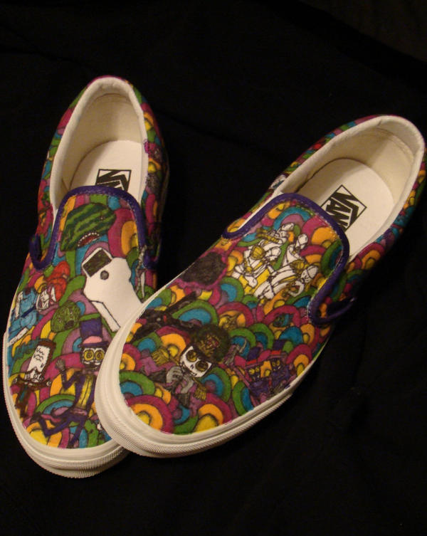 SUPERJAIL SHOES YUH by ryukuku