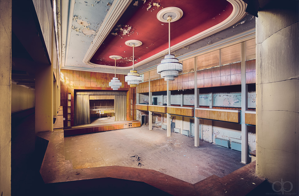 Red Ballroom by Dapicture
