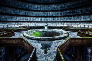 The Star of the Cooling Tower by Dapicture
