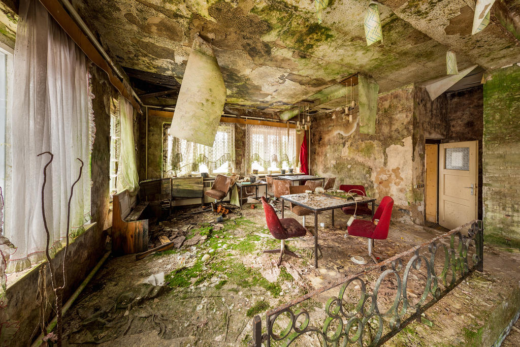 Old Canteen by Dapicture