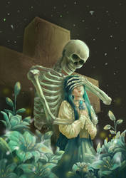 fanart Pisces - ghost hunter (novel)