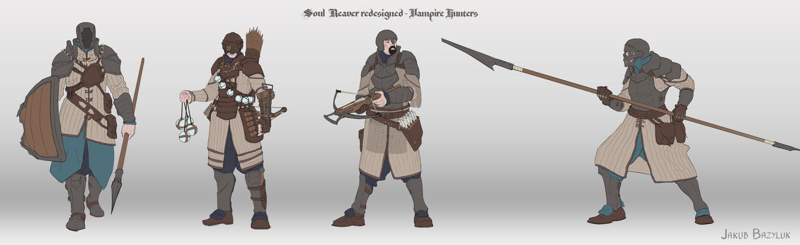 Soul Reaver redesigned - Vampire Hunters concepts