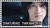 Sakurai Takahiro Stamp by msirae