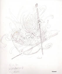 U Sketch Udon Underlord by kikoeart