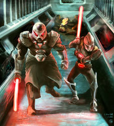 Star Wars Commission Lord Onenaar and Apprentice