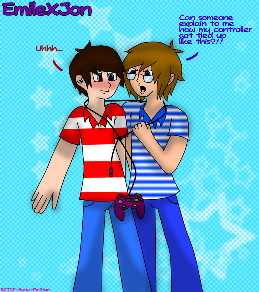 Tied up in video games emilexjon by botdf sonic pm2fan on deviantart