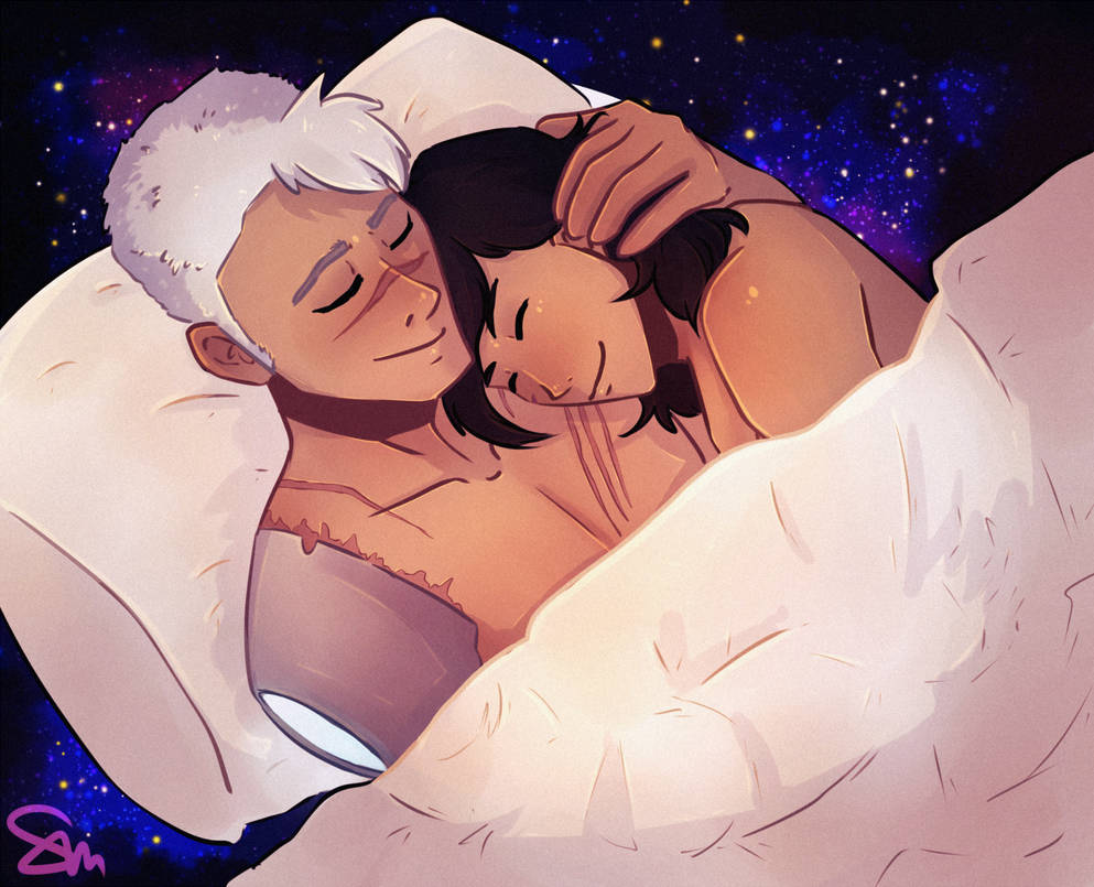 Sheith Secret Santa - Space Cuddles by kopfschmerztablette